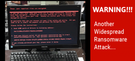 "ALERT ! widespread ransomware known as ""Petya"""
